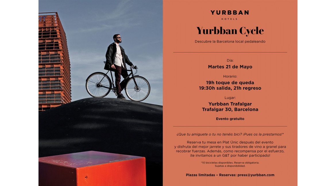 Te invitamos al Yurbban Cycle